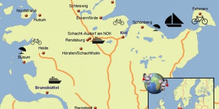 Informatielijst staanplaatsen Duitsland