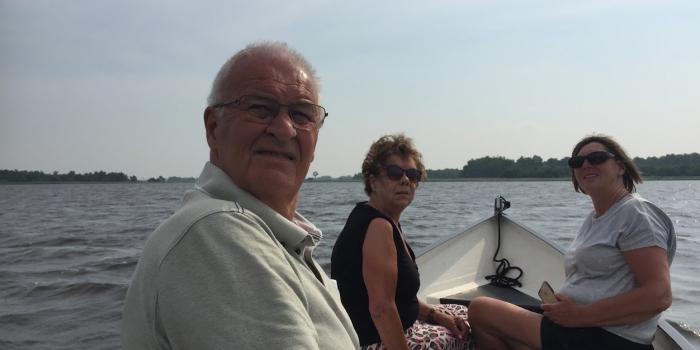 Dagje Giethoorn met Lex en Ineke,