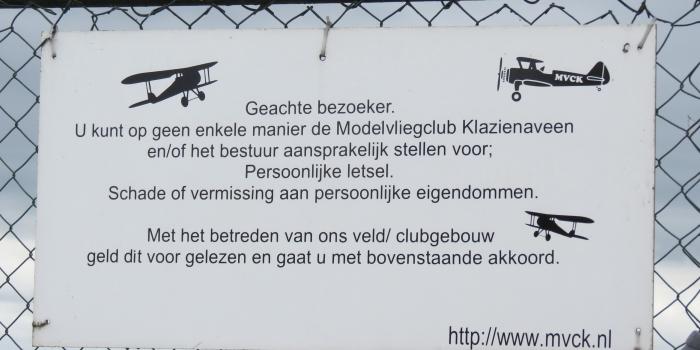 FLY-INN Modelvliegclub Klazienaveen