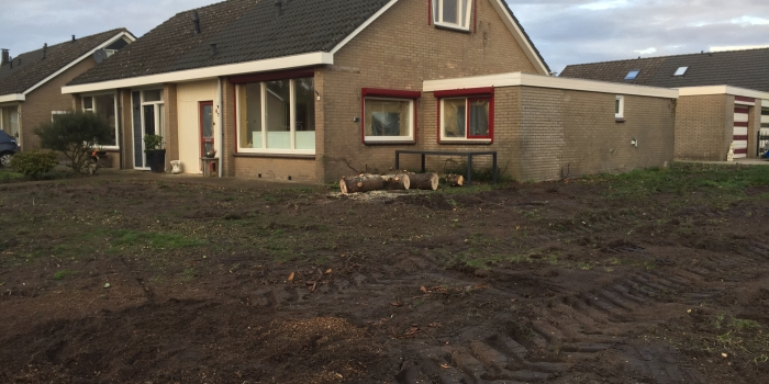 Verbouw van onze woning Veenoord okt/Nov 19